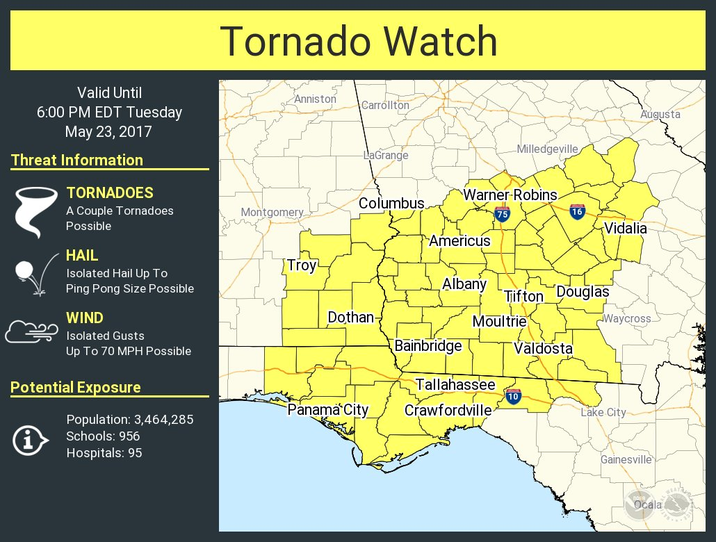 Tornado Watch Issued