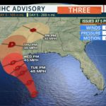 Potential Tropical Cyclone Three Forming in Gulf of Mexico