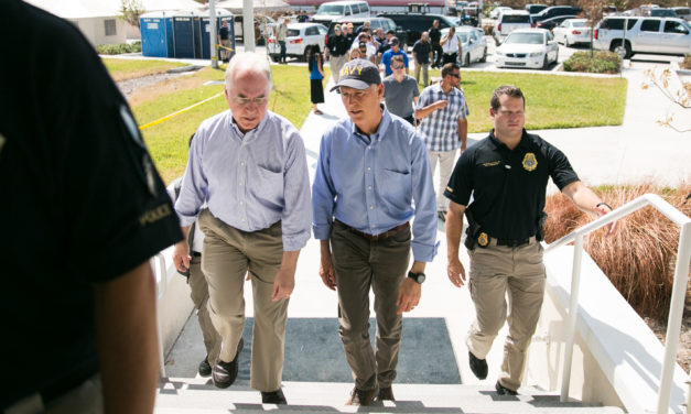 Gov. Scott and HHS Sec. Price Discuss Hurricane Irma Recovery Efforts in the Fla. Keys