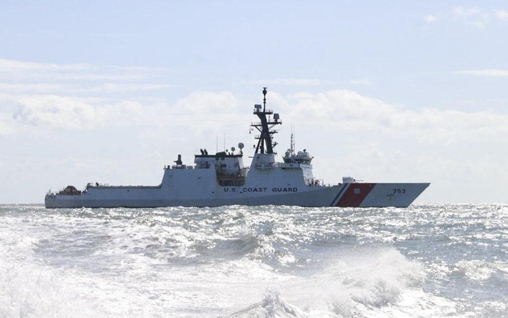 Coast Guard Cutter Hamilton crew conducts Hurricane Irma relief efforts