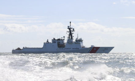 Coast Guard Cutter Hamilton crew conducts Hurricane Irma relief efforts