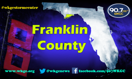 Franklin County Update – 7pm cdt 9.8.17