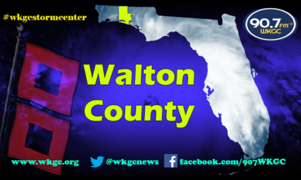 Walton County – Update 11am cdt 9.10.17