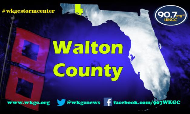 Walton County – Update 11am cdt 9.10.17