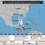 Tropical Depression Sixteen Intermediate Advisory Number 1A
