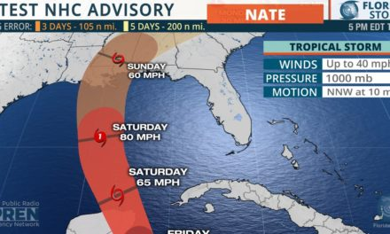 """Nate Trending West, but Confidence """"Lower than Normal"""""""