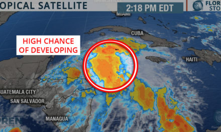 Chances of Tropical Development Increasing in Caribbean