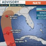 Tropical Storm Nate 10am cdt 10.5.17